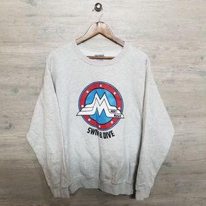 Vintage Wonder Woman Crewneck Sweatshirt. AMAZING!